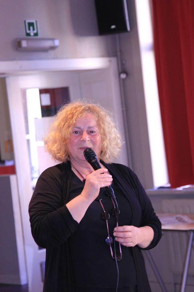 鲁汶市政厅分工副市长Denise Vandevoort致辞